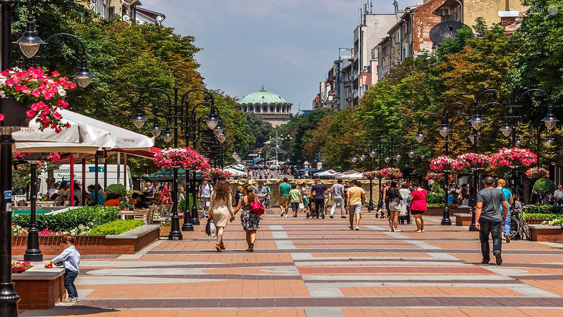vitosha walking street with many things to do and see