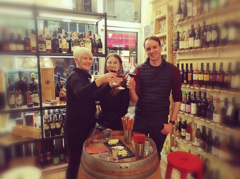 Tempus Vini wine tasting Sofia Tour