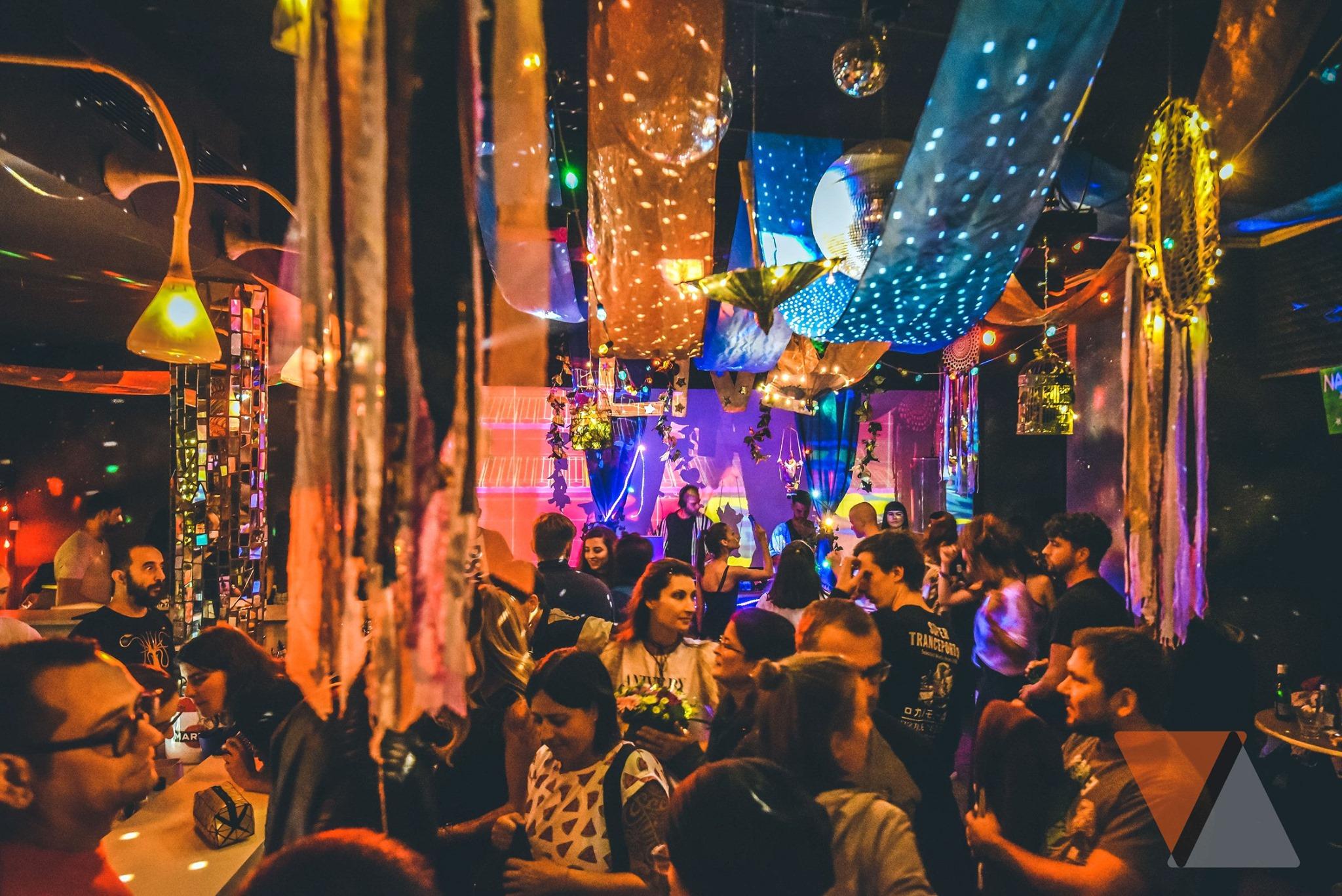 Party at a LGBT-friendly bar in Sofia Bulgaria