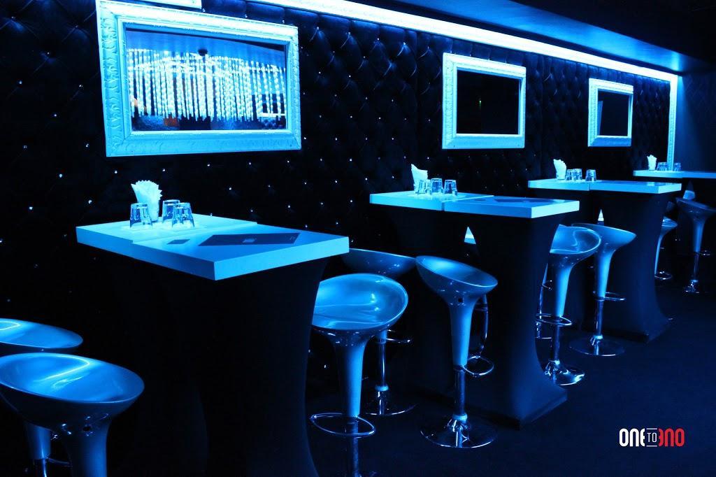 Interior of a gay bar in Sofia Bulgaria
